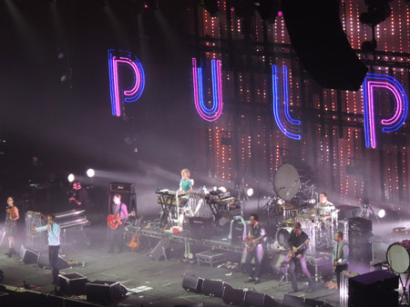 Pulp at Sheffield Arena, 8 December 2012