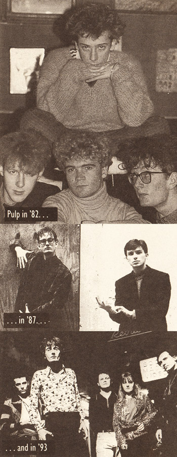 Pulp in 1982, 1987 and 1993