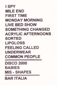 Pulp Setlist for Birmingham NEC, 22 February 1996