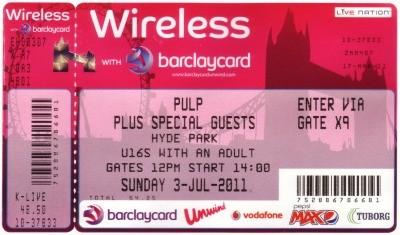 Pulp Wireless Ticket
