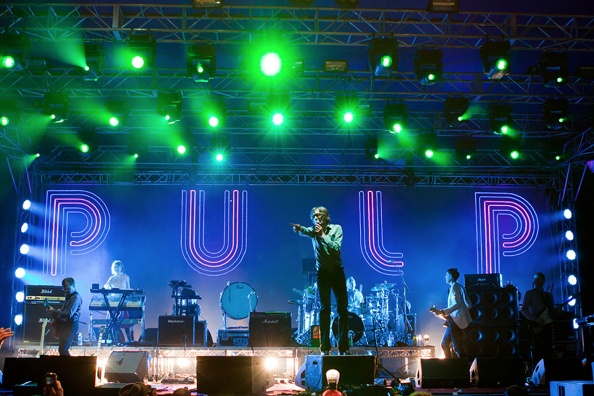 Pulp at On The Bright Side Festival, Perth, 2011