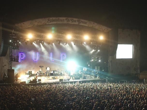 Pulp at Splendour In The Grass Festival 2011